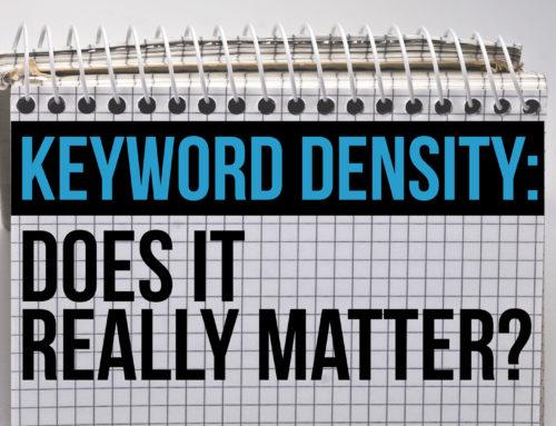 Is Keyword Density Still Important In SEO?